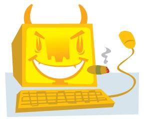 Devil Computer got my e-mail