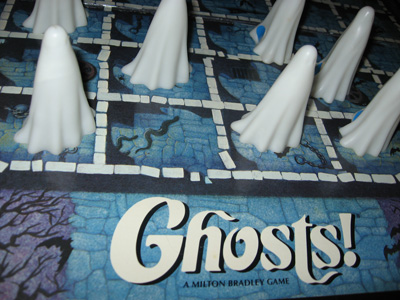 Ghosts! board game – J Chris Campbell
