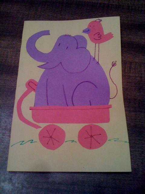 Homemade Birthday Card J Chris Campbell